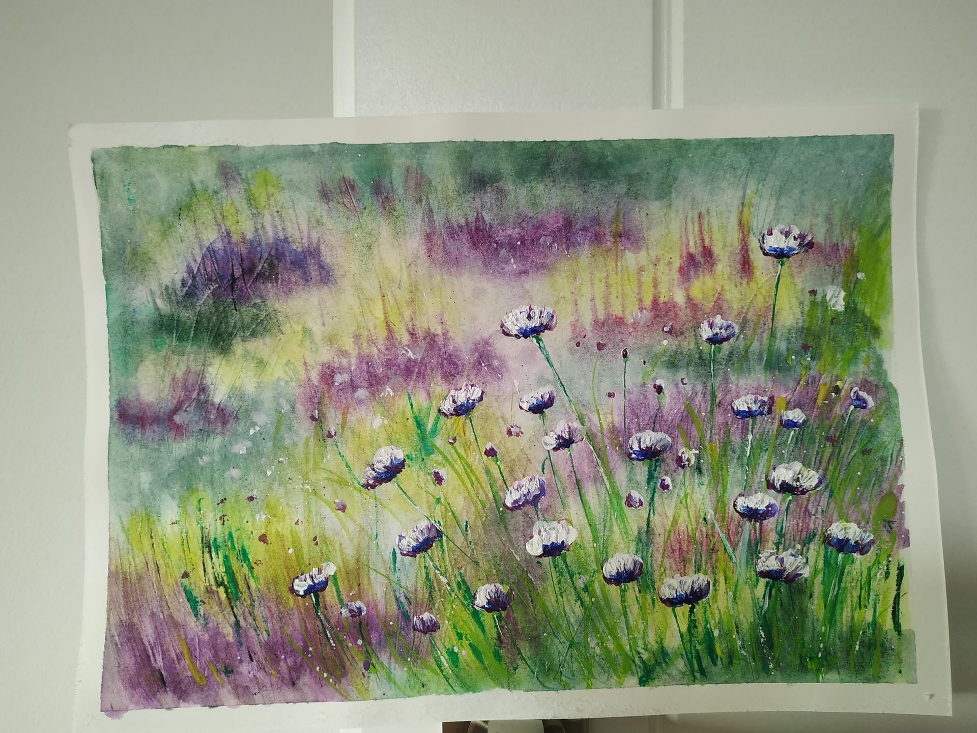 Akvarelom...😉 - Obrázok č. 1