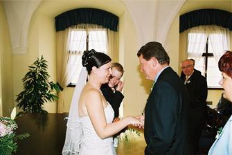 Blahopřání od tatínka nevěsty