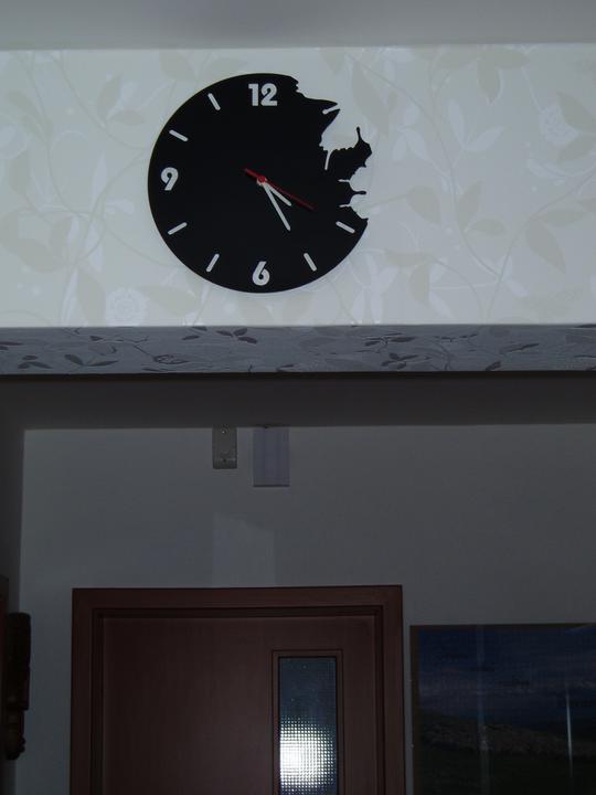Detaily, dekorace... - naše nové hodiny