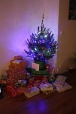 2010 naše první společné vánoce v novém bydlení :-)