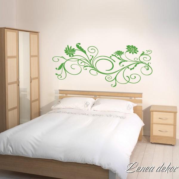 Líbí se nám... Všehochuť - ...nad postel místo obrazu?? Když už jsme udělali zelený nátěr :-D
