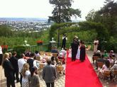Ozvučení svatebního obřadu v roce 2012.
