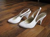biele topánky zn. baťa, 37