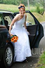 Nevěsta nakonec dorazila:-)