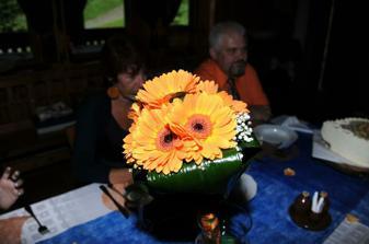 Svatební kytice reál