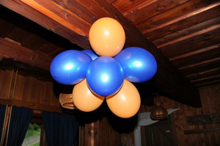 Přípravy zpětně:-) - Výzdoba z balónků