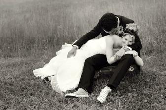 Černobílé fotky jsou pořád nejvíc romantické:-)