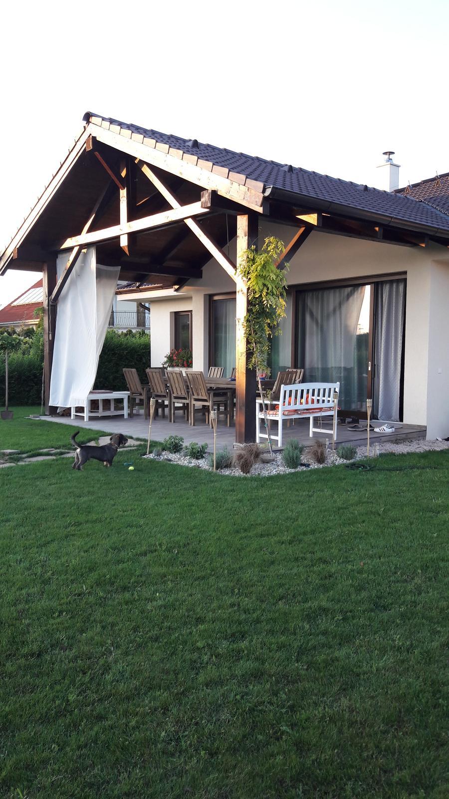 Náš domov :) - Západ slnka u nas🌻