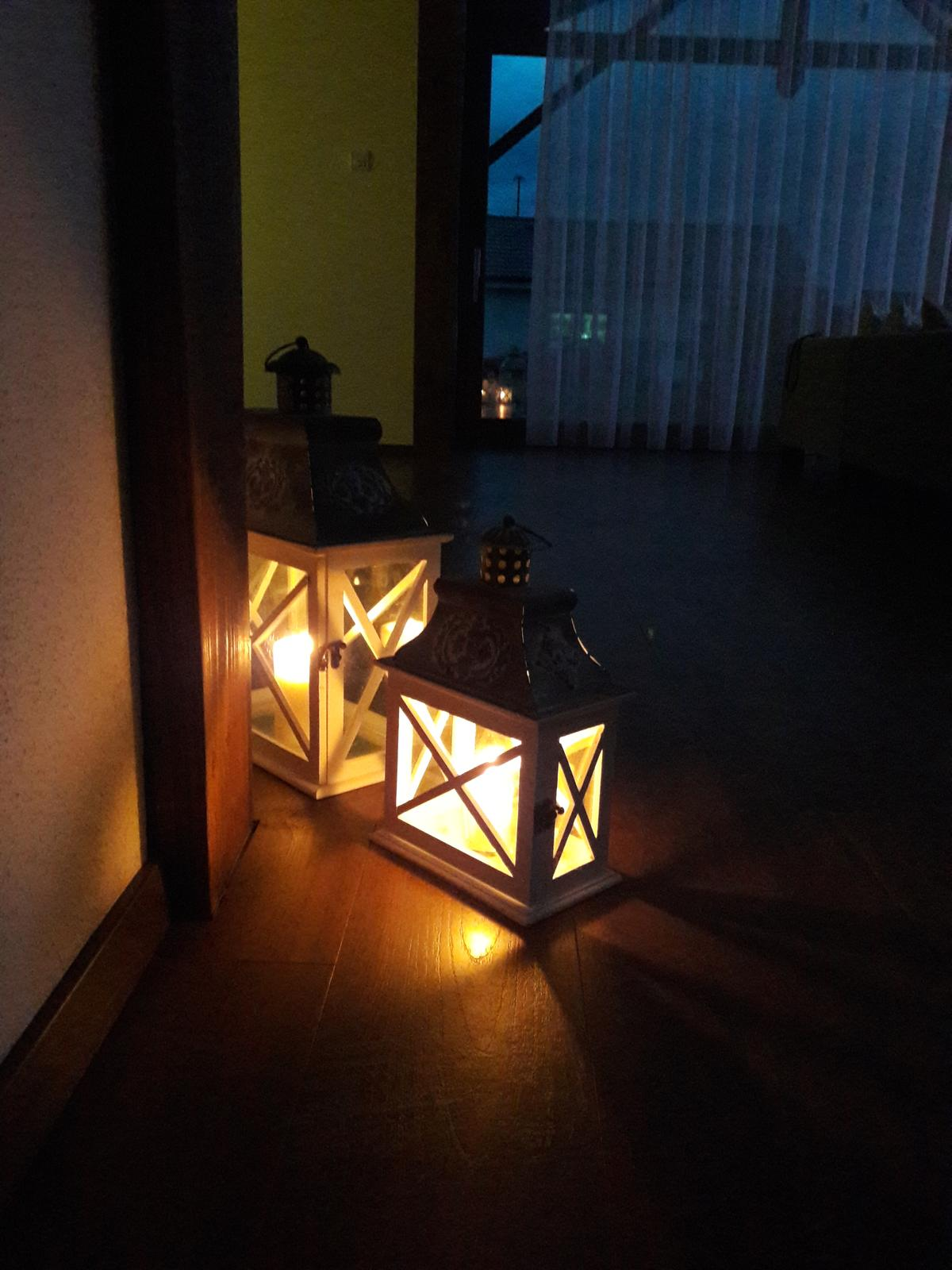 Náš domov :) - večerná romantika :)