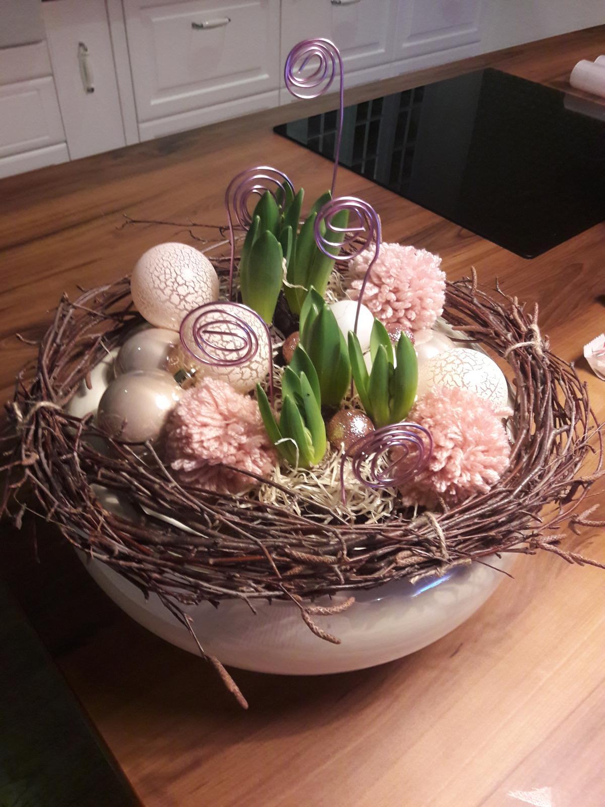 Náš domov :) - hyacinty na vianočnu nôtu🎄
