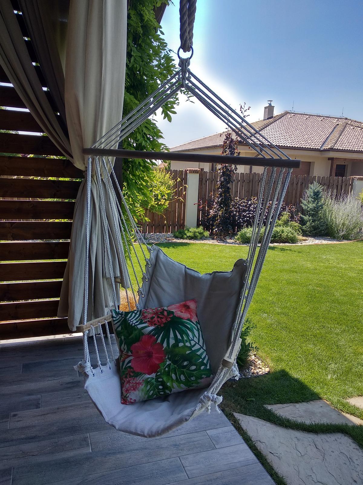 Náš domov :) - Nové oddychové miesto na terase 😉