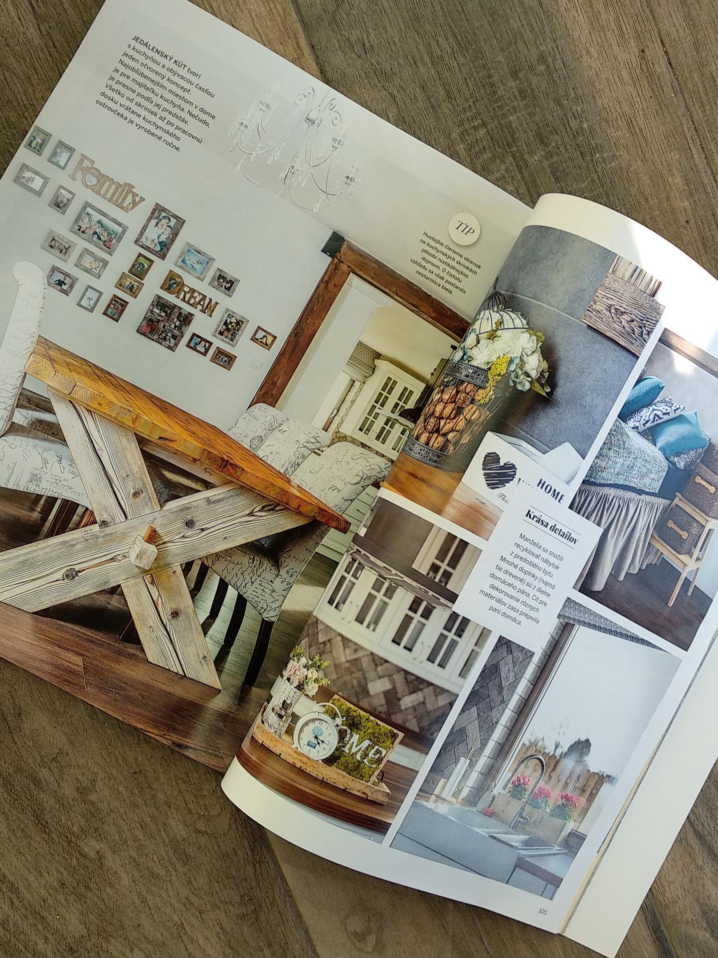 Náš dom v časopise Pekne bývanie 😊😊😊 - Obrázok č. 1