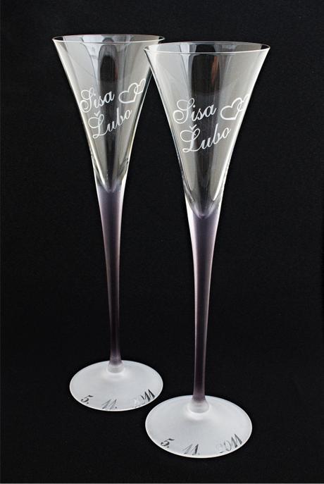 Svadobné poháre - Obrázok č. 1
