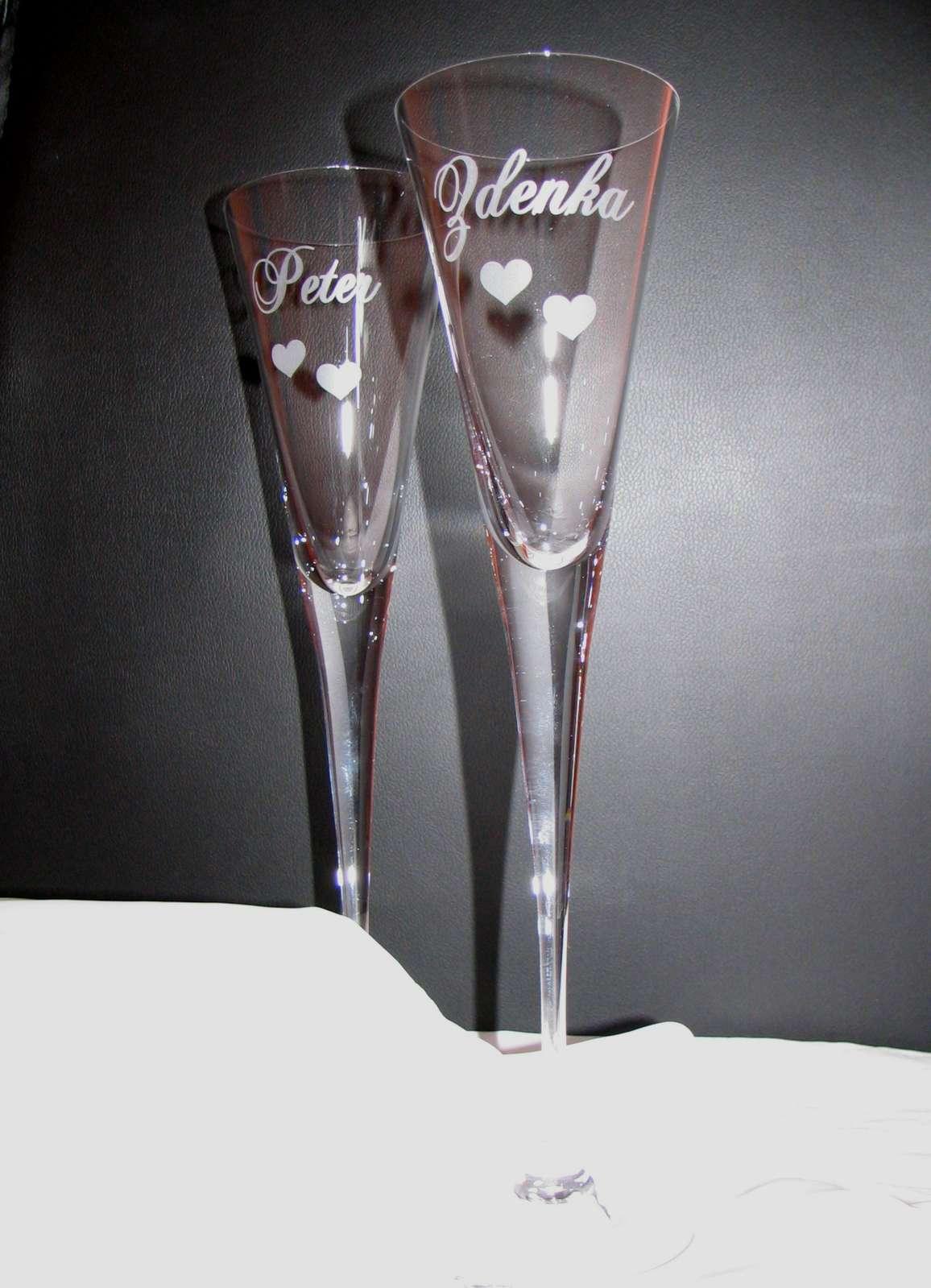 Na svadobné poháre zľava - Obrázok č. 1