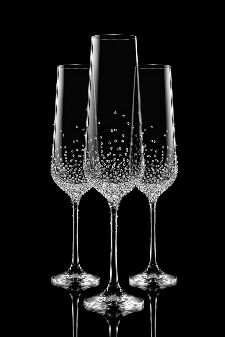 Swarovske BOHEMIA poháre - Obrázok č. 1