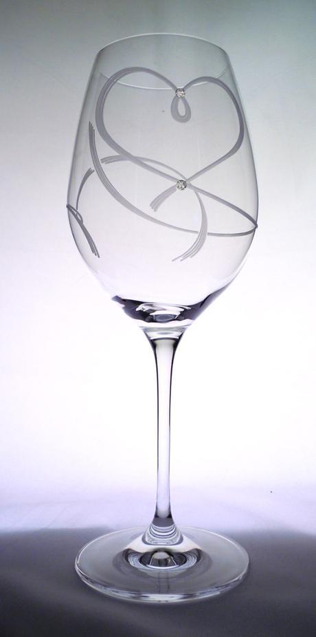 Vínové svadobné poháre - Obrázok č. 1