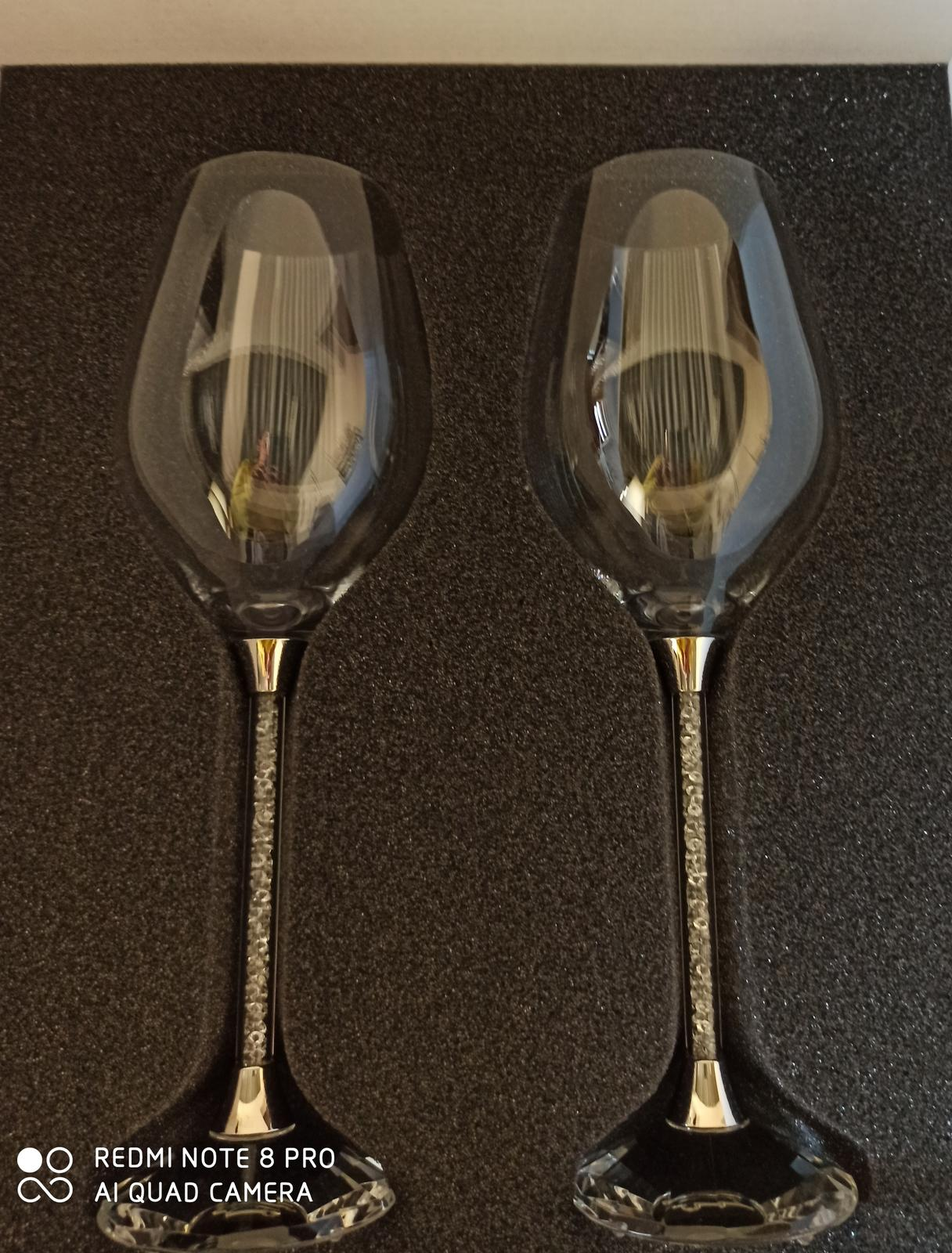 Swarovske luxusné BOHEMIAN poháre - Obrázok č. 2