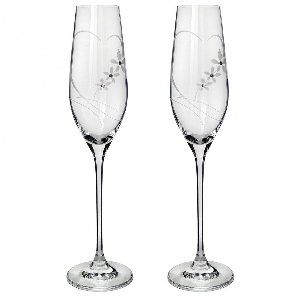 Svadobné poháre so SWAROVSKI - Obrázok č. 1