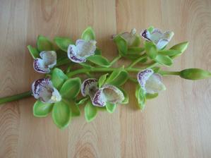 dnesní ulovek, květy budou na dortu:-)