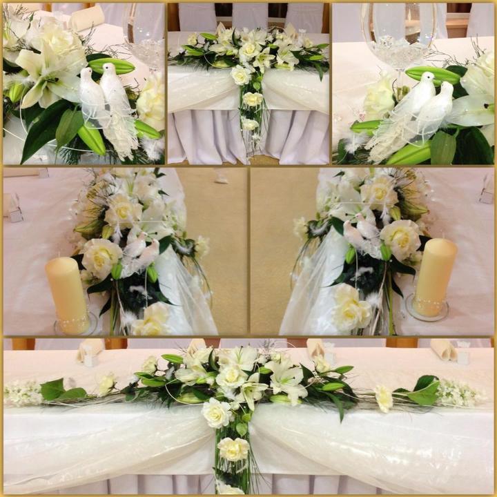 in8kadesign - Výzdoba svadobného stola.
