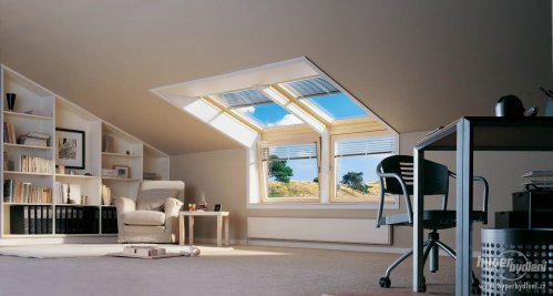 INSPIRACE - Přijatelná varianta střešních oken