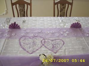 podobně chci i náš stůl na hostině