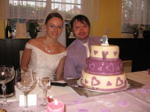 Náš dortík..byl výborný