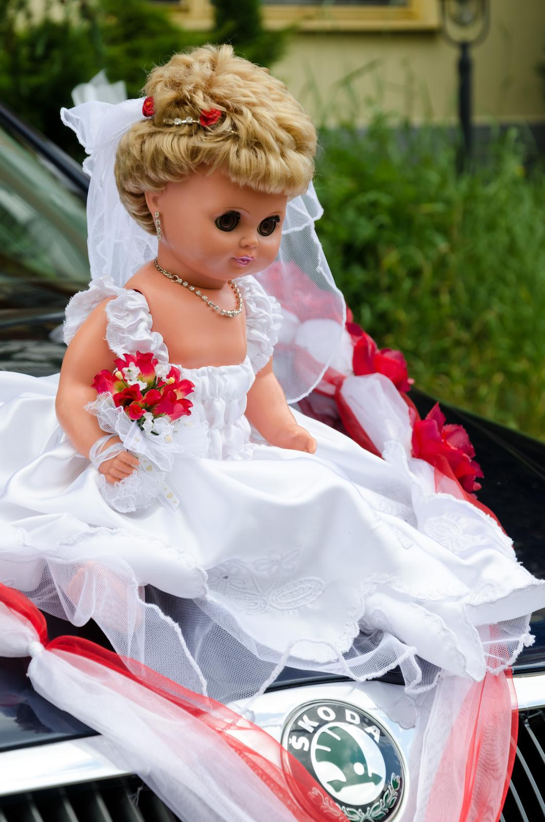 ♥~ Marsy{{_AND_}}♥~ Péťa - tak tahle panenka vezla i mojí maminku k oltáři....