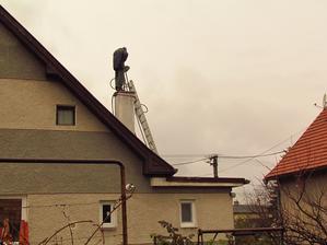 Frézovanie a vložkovanie komína (nepredpokladané výdavky navyše :-/)
