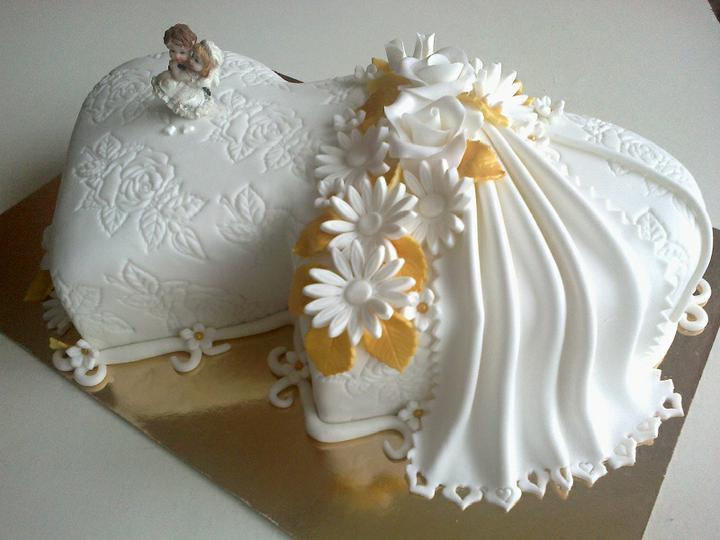 Svadobná torta - Obrázok č. 16