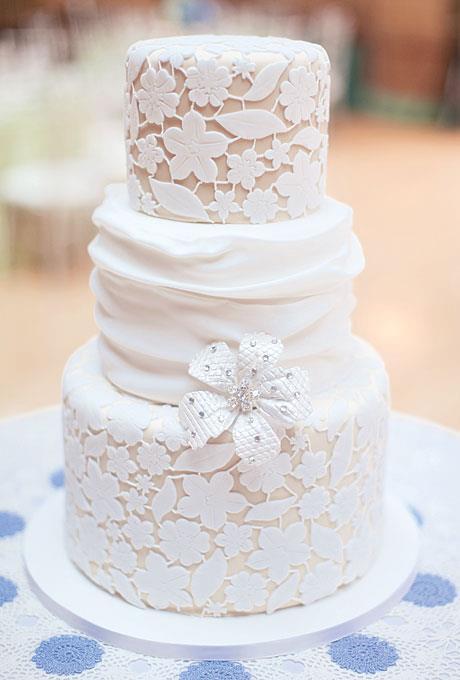 Lace Wedding Decorations & Details - Obrázok č. 37