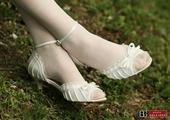 Svadobné sandálky, 39
