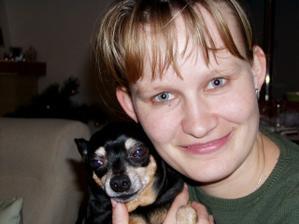 tak toto som ja s naším domácim maznáčikom číslo 1