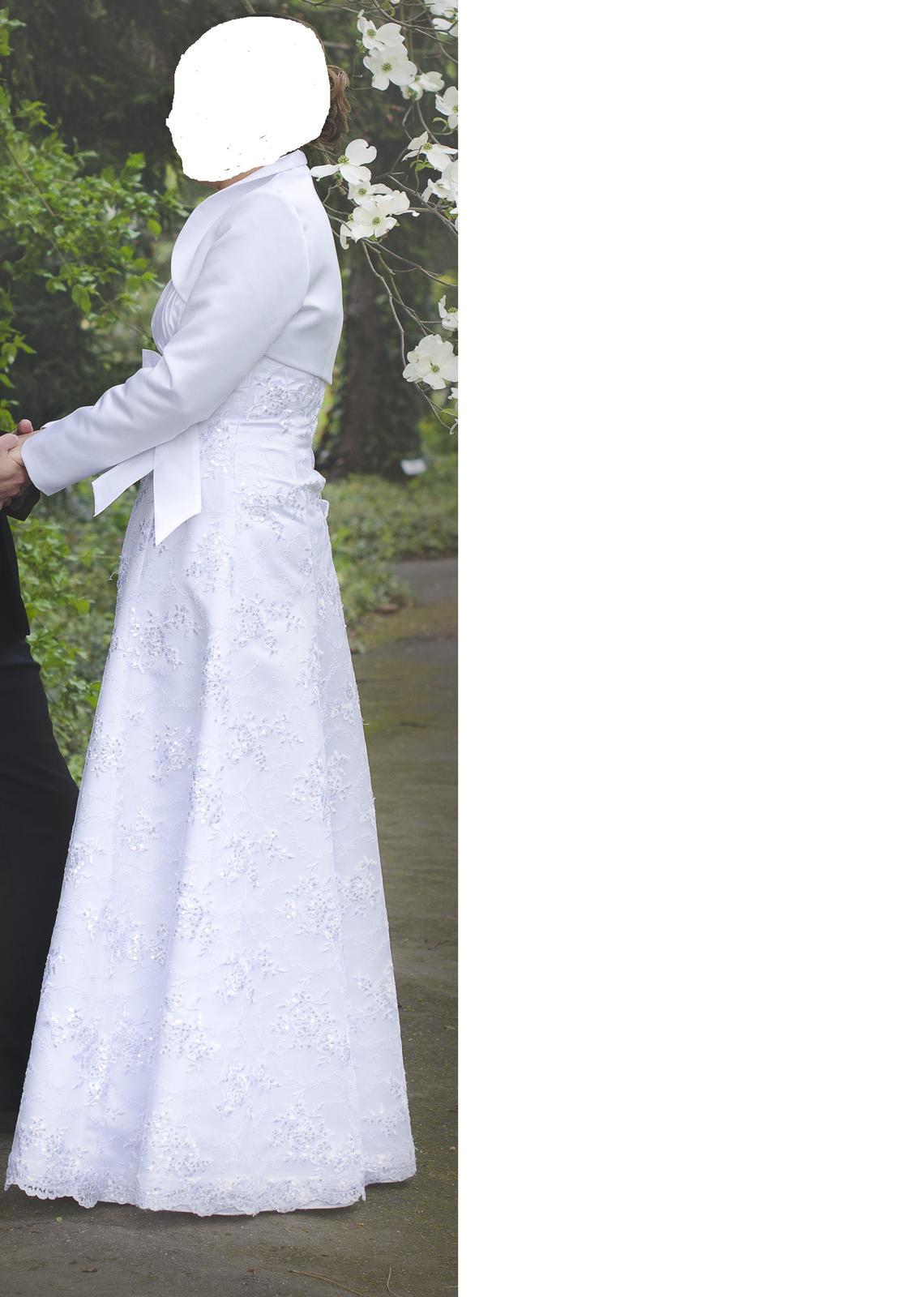 Svadobné šaty 38-40 - Obrázok č. 2