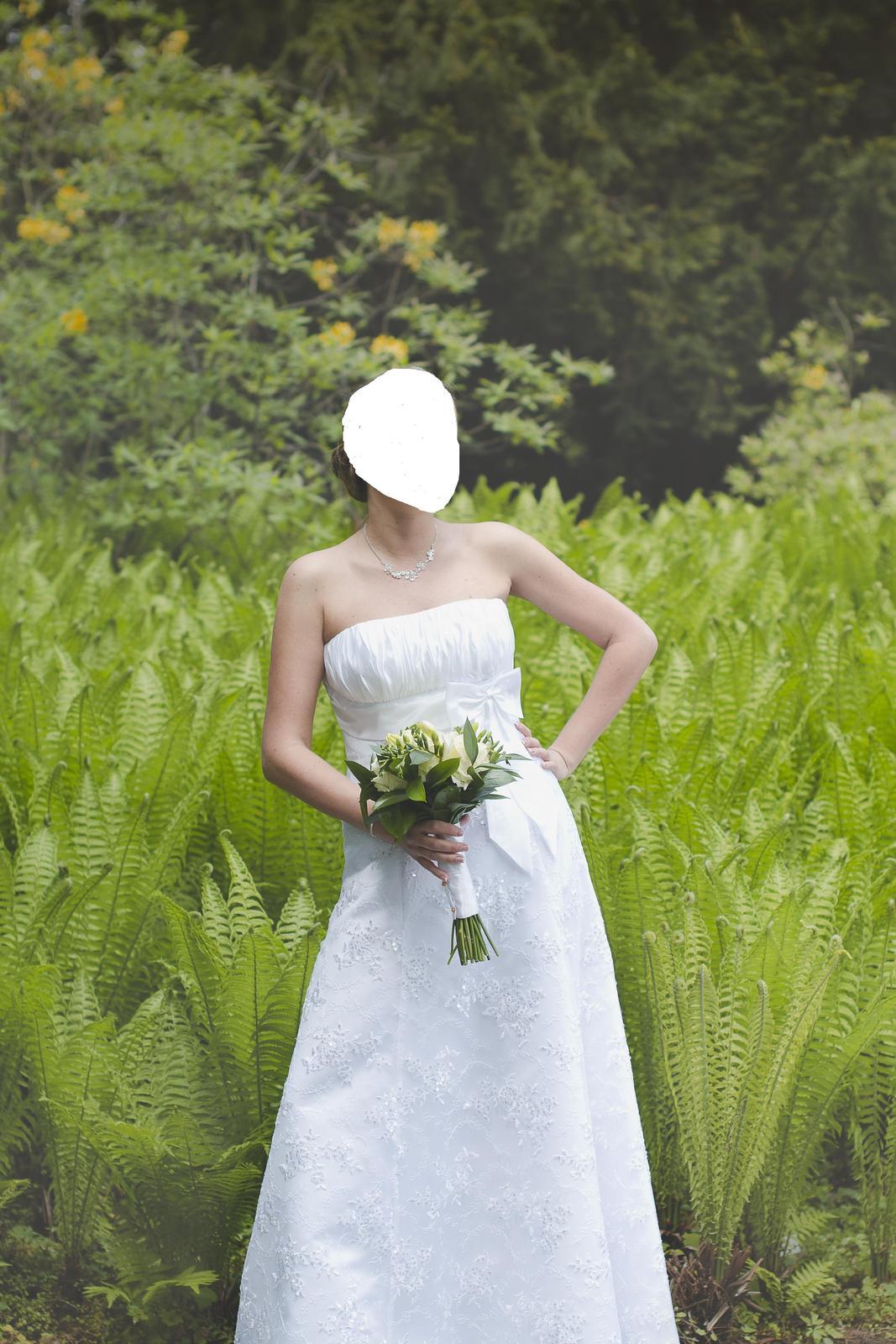 Svadobné šaty 38-40 - Obrázok č. 1