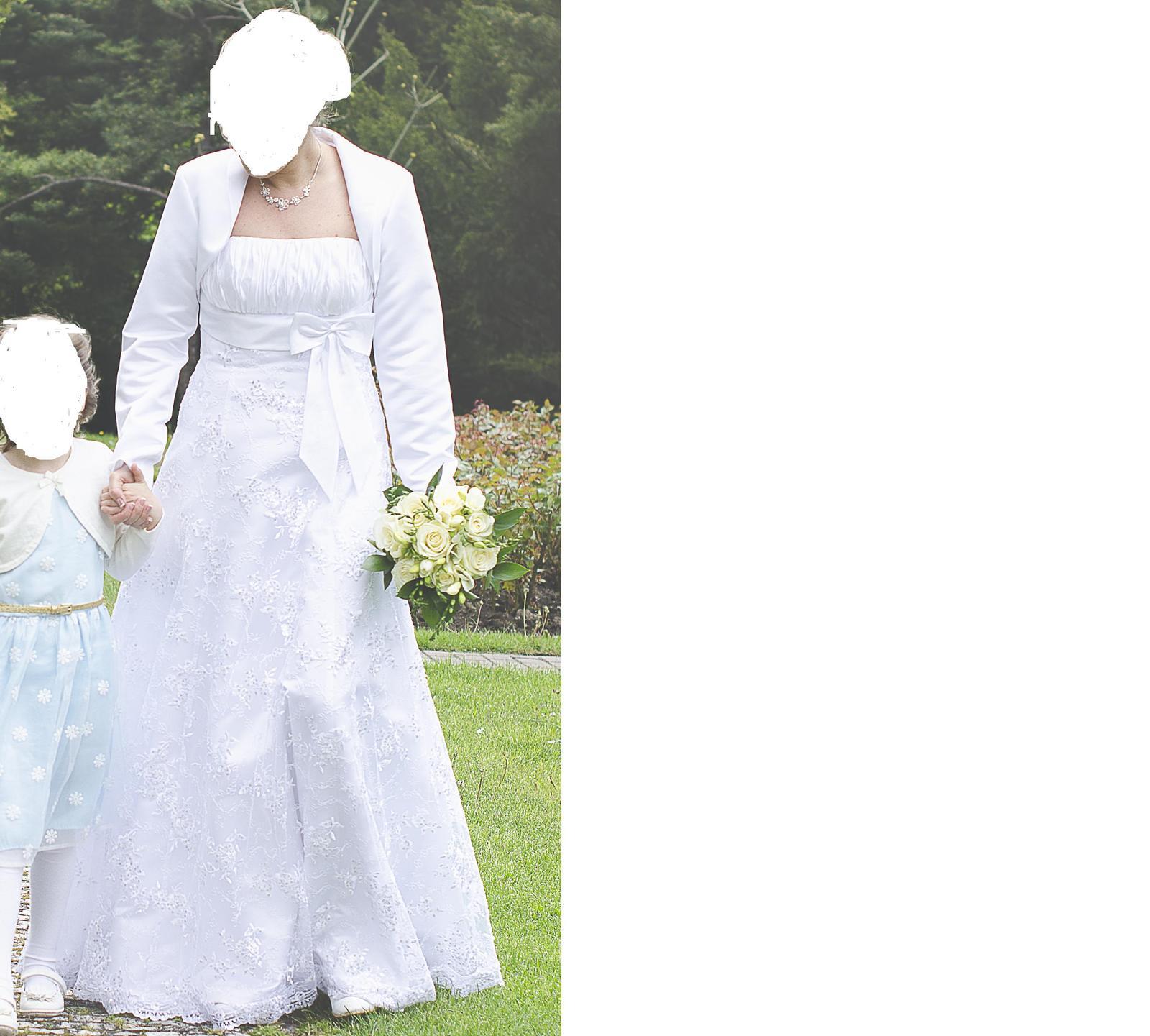 Svadobné šaty 38-40 - Obrázok č. 3