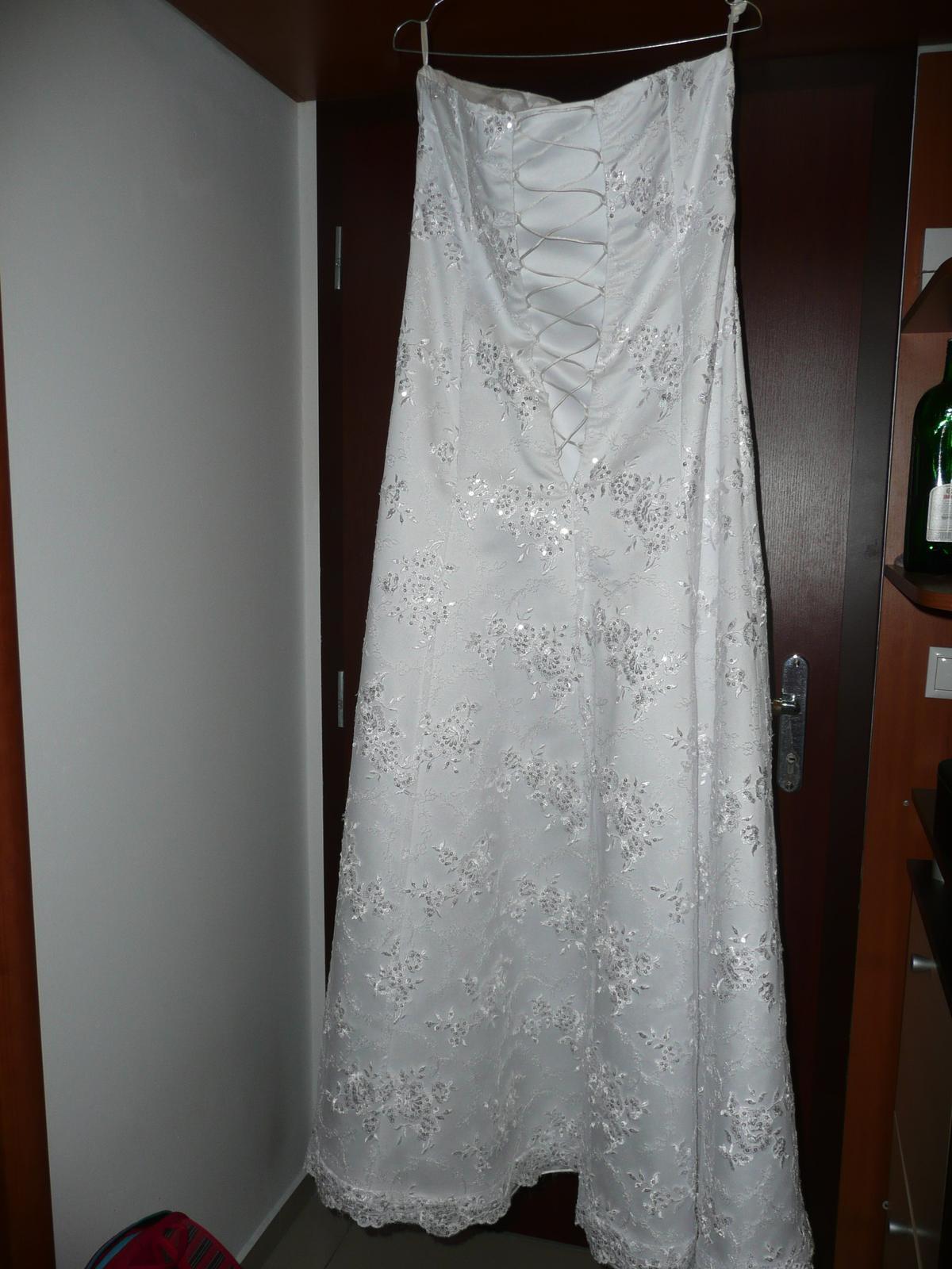 Svadobné šaty 38-40 - Obrázok č. 4
