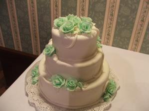 Naša tortička, bola fakt chutná