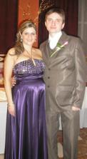 Ja s bratom na jeho svadbe, som v 7.mesiaci a veľmi sa tešíme