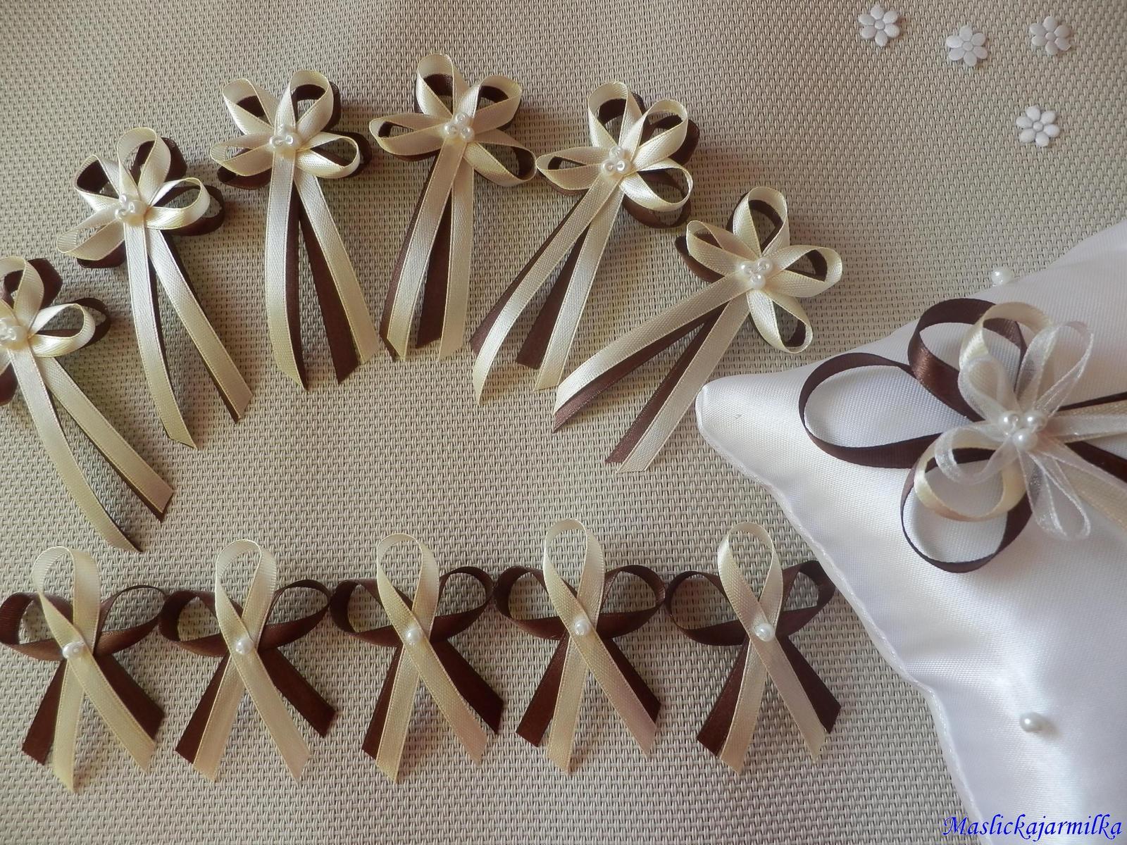 Svatební vývazky, podvazky.. - Obrázek č. 4