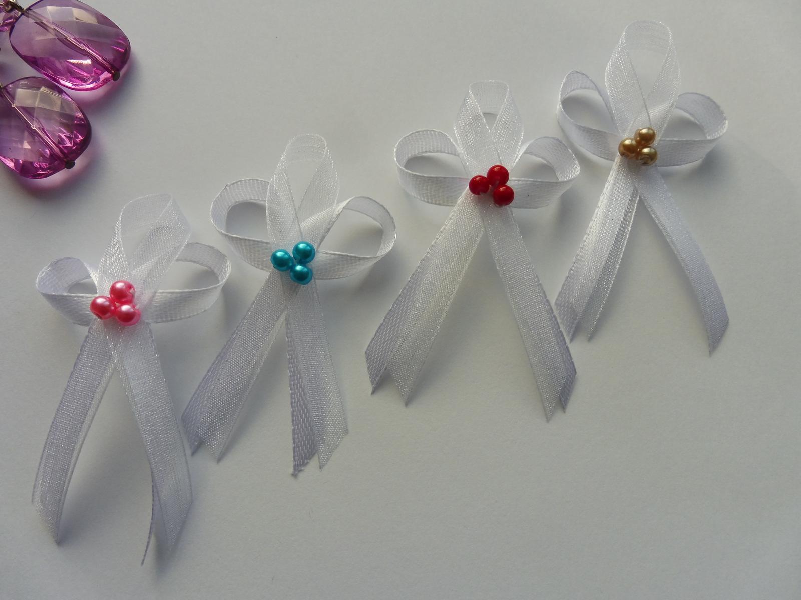 Perličkové svatební vývazky..... - Obrázek č. 2