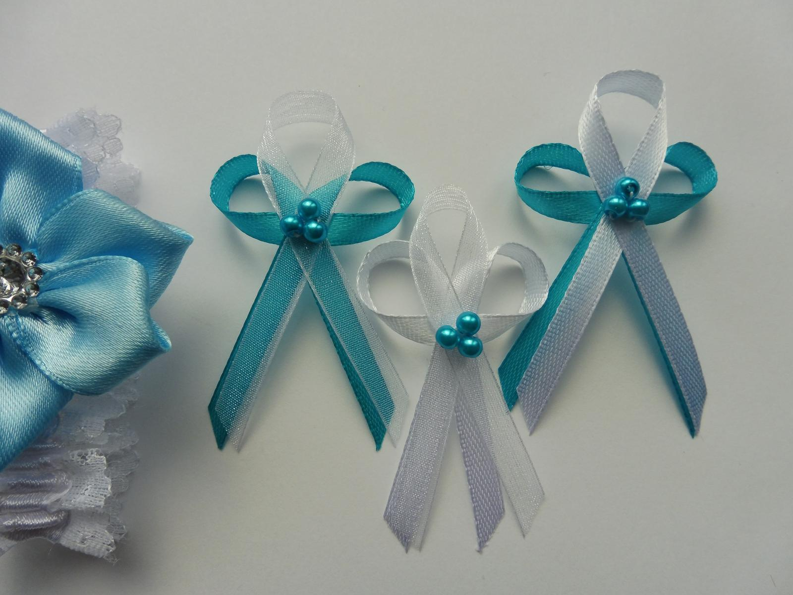 Perličkové a jiné svatební vývazky..... - Obrázek č. 8
