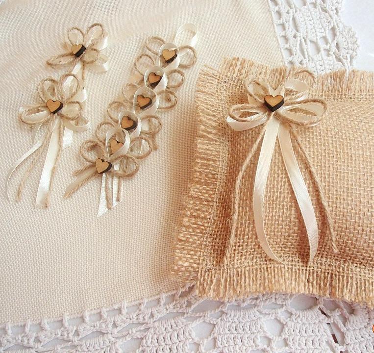 Svatební vývazky, podvazky, polštářky, náramky... - Obrázek č. 49