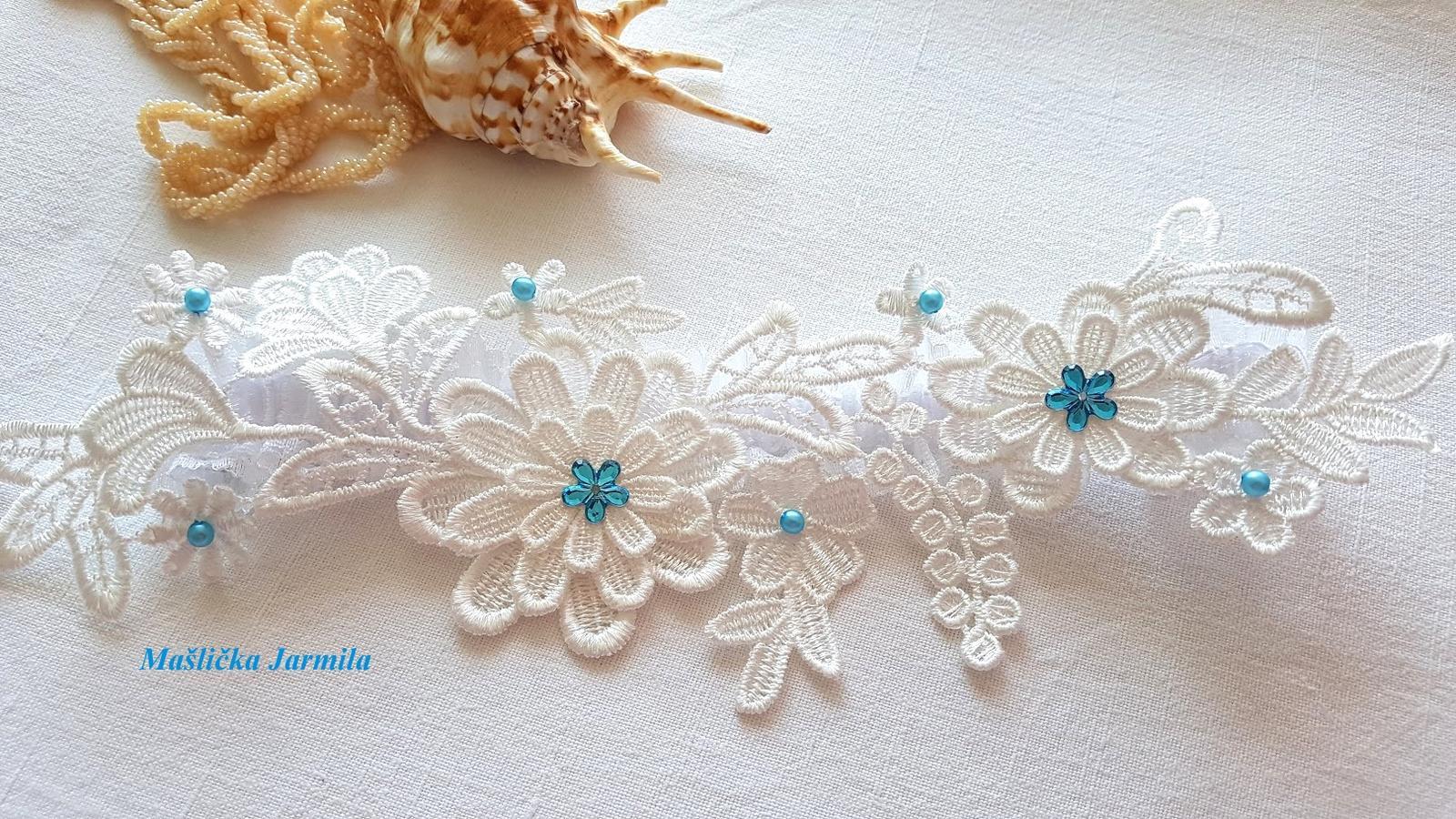 Perličkové svatební vývazky..... - Obrázek č. 10