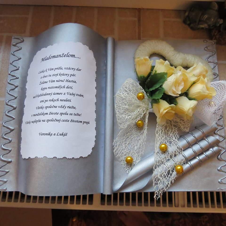 Ďalšia gratulačná kniha z mojej dielne :) - Obrázok č. 1