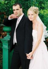12.8.2006    Svatba mé kamarádky - Radka a Michal. Radka bude můj svědek :-).