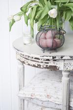 Ružové vajíčka - farbené surovou cviklou