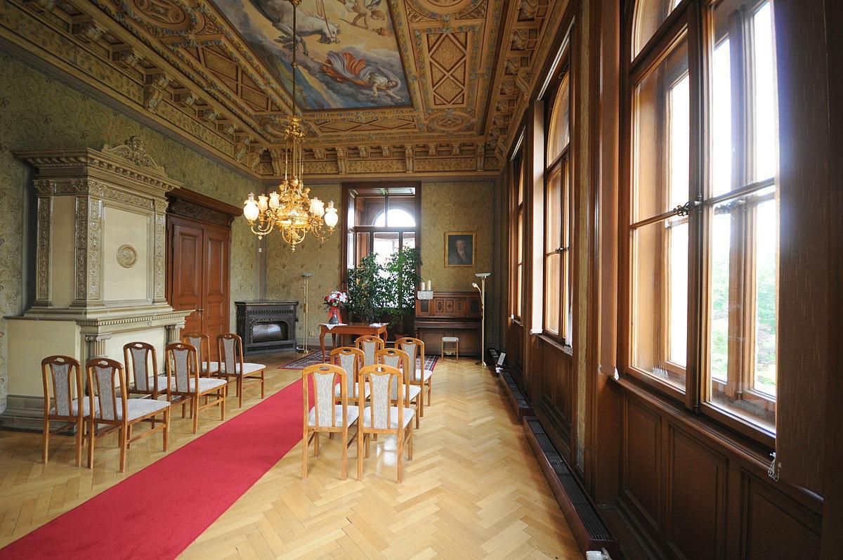 Naše dobová viktoriánská  svatba - Obřad bude v Křížově vile
