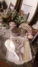 Část stříbra z mé svatební výbavy 😍