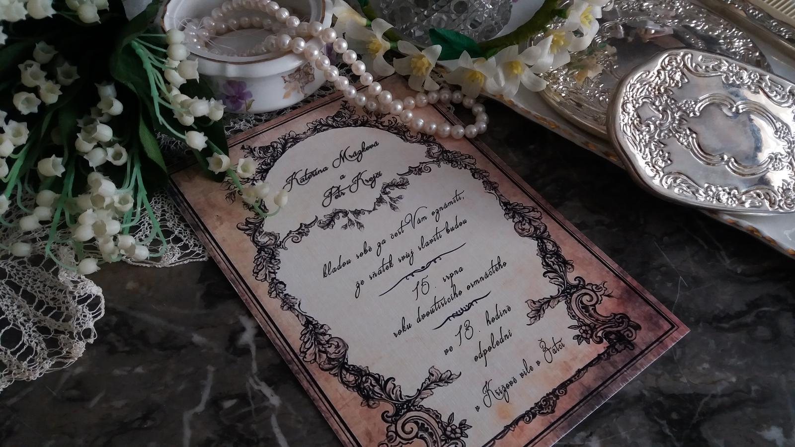 Naše dobová viktoriánská  svatba - Už se nám to blíží...